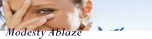 Modesty Ablaze logo