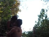 Efi & Walter breaking-in the day with #realworldsex in the jungle