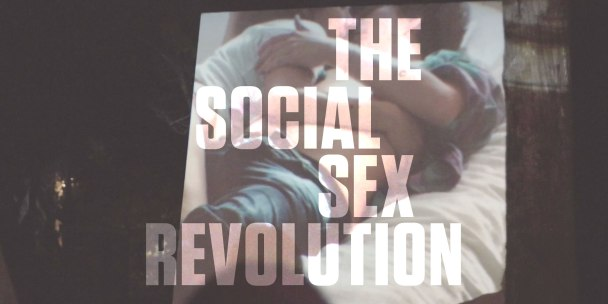 The official flyer for MakeLoveNotPorn: The Social Sex Revolution designed by Chandelier Creative