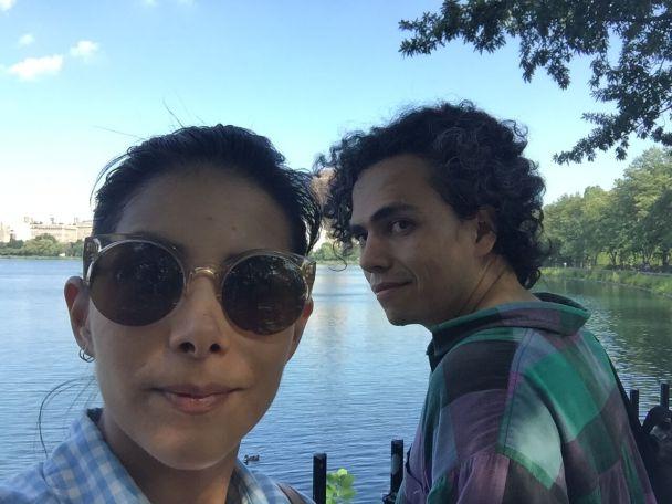 Efi & Walter in central park