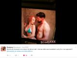 Scody share some post-shoot slippery fun
